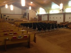 Church Pews - During 2